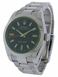 Rolex Milgauss - 116400 - Green Sapphire Crystal - Used