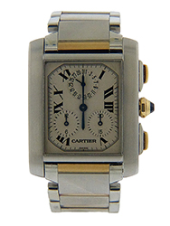 Cartier - Tank Francaise - Chronograph - Used